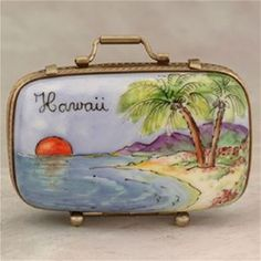 Limoges Hawaii Suitcase Box The Cottage Shop