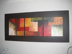 Picture Wall, Picture Frames, Crayon Art, Gold Leaf, Framed Art, Collage, Canvas, Pictures, Painting