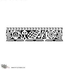TATTOO TRIBES: Tattoo of Putui, Persistent tattoo,spearheads sharkteeth sun tiki tattoo - royaty-free tribal tattoos with meaning Maori Tattoos, Tattoo Maori Perna, Maori Tattoo Frau, Forearm Band Tattoos, Filipino Tribal Tattoos, Marquesan Tattoos, Samoan Tattoo, Arm Tattoo, Sleeve Tattoos