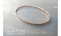 Vanrycke bracelet jonc or Bliss
