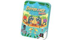 Difference Junior - LÁNY játékok - Fejlesztő játékok az Okosodjvelünk webáruházban F Video, Junior, Jouer, Card Games, Lunch Box, Phone Cases, Blog, Memory Games, Color Schemes