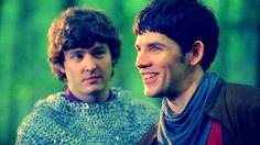 Merlin and Mordred..