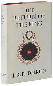 The Return of the King (3rd book)... Gandalf and Pippin arrive at Minas Tirith in the kingdom of Gondor, delivering the news to Denethor, the Lord and Steward of Gondor, that a devastating attack on his city by Sauron, the Dark Lord of Mordor is imminent. Pippin then enters the service of the Steward as repayment of a debt he owes to Boromir, Denethor's dead son and preferred heir. Now clad in the uniform of the tower guard, Pippin watches the fortunes of war unfold, while Denethor…