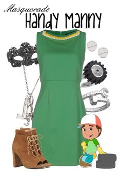 """Masquerade: Handy Manny"" by jivy44 ❤ liked on Polyvore featuring Blu Bijoux, Jo No Fui, Gorjana and Nine West"