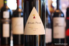 The Reverse Wine Snob: Atlas Peak Napa Valley Cabernet Sauvignon 2008 - The Pinnacle of Cheeseburger Wines? A majestic mountain blend from Atlas Peak, Howell Mountain, Napa Valley and Spring Mountain District. http://www.reversewinesnob.com/2014/01/atlas-peak-napa-valley-cabernet-sauvignon.html