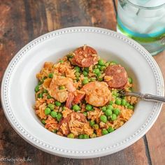 """""""Jambakinda:"""" a simplified weeknight jambalaya that is super easy and delicious!"""