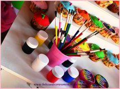 Beleza é Decorar a Mesa: Festa Pintando o Sete!