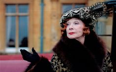 """Shirley MacLaine as Lady Cora's mother, a worthy opponent for the Dowager: """"I'm so looking forward to seeing your mother again,"""" says Lady Crawley, (Maggie Smith). """"When I'm with her I'm reminded of the virtues of the English.""""  """"Isn't she American?"""" asks Matthew Crawley (Dan Stevens).  """"Exactly,"""" quips Smith.   Here at link: DA's creator explains why American actors can't do period drama"""
