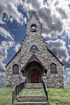 Stone Church in York, Me.