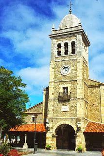 Luanco, iglesia de Santa María