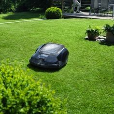 The Husqvarna Automower is like a Roomba for your lawn! Its sleek lines make it look like it was developed in Batman's secret underground lair—which is fitting, because it will quickly become the superhero of your yard work. It's powered by electricity, so it's relatively quiet and there are no emissions or smelly gas cans to deal with. When the mower needs more power, it automatically docks itself into the charger.