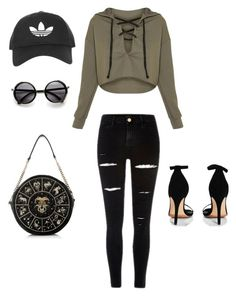 """""""Untitled #2"""" by sierra-lanea ❤ liked on Polyvore featuring Boohoo and Topshop"""