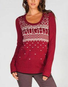 Naughty sweater