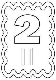 chiffre 2 à colorier ou à gommettes. Imprimeren fichier PDF cliquez :.acrobat.com. Chiffres de 0 à 10 : -ici- Coloriage avecl'alphabet cliquez :-ici- .je vous demande de vous en servir ... Bullentin Boards, Number Sense, Coloring Pages, Kindergarten, Symbols, Activities, Education, Maths, Counting