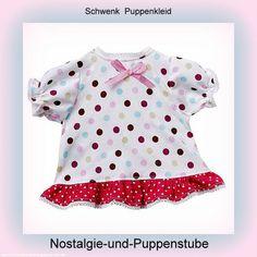 Schwenk Puppenkleidung, Sommerkleid mit Punkten, für... nur 12.50 EUR