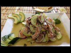 Cómo hacer aguachile estilo sinaloa - Recetas de cocina - CHUCHEMAN1 - 2012 - YouTube