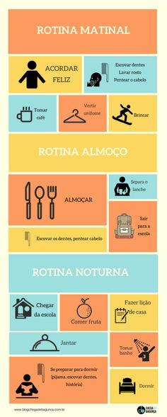 crianças precisam de rotina Health Promotion, Life Organization, Kids Education, My Children, Kids And Parenting, Diy For Kids, Just In Case, Life Is Good, Psychology