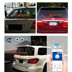 Find More LED Displays Information about 12v 24v Voltage Car Bus Taxi Factory Message Indoor WIFI Remote Multicolor RGY Electronic Advertising LED Display Board ,High Quality led display board,China display board Suppliers, Cheap led display from Leadleds Official Store on Aliexpress.com