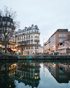 "Canal Saint Martin ☽ ✨"""