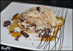 Kokosovo čokoládová ryža