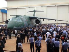 Embraer KC-390 roll-out - Oct 21st, 2014
