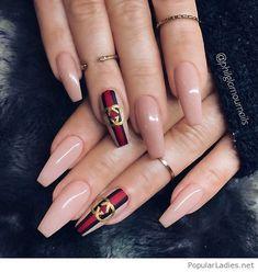 Long nails and print