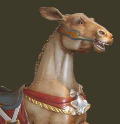Carousel: 1914 Dentzel Carousel Donkey – Rare