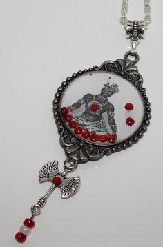 Chango Shango Unisex Modern necklace by ModernOrisha on Etsy, $16.00