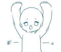 ych with hair * hair ych . ych base with hair . ych with hair Anime Drawings Sketches, Kawaii Drawings, Cute Drawings, Chibi Sketch, Chibi Drawing, Drawing Expressions, Art Poses, Drawing Reference Poses, Drawing Base