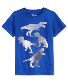 Add some prehistoric fun to his closet with this cool dinosaur graphic T-shirt from Epic Threads. | Cotton/polyester | Machine washable | Imported | Crew neck  | Short sleeves | Graphic print at front