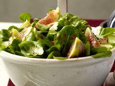 Feldsalat mit Feige