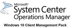 System Center Management Pack for Windows 10 released