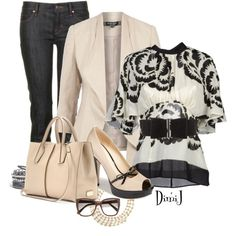 All Dressed Up In Jeans - Polyvore