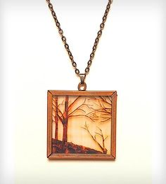 Go To The Woods Necklace