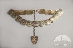 """Metal Ren Belt """"Sansa""""; Belt; Woman's belt; Medieval Belt"""