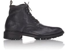 Barneys New York Washed Leather Boots at Barneys New York