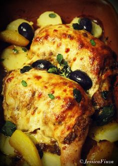 Italian chicken (ricotta stuffed)