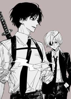 Anime W, Anime Demon, Character Design Animation, Character Art, Arte Cyberpunk, Bloodborne Art, Fan Art, Chainsaw, Aesthetic Anime