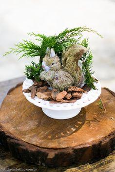 Detalhes do chá de bebê com tema Woodland.Foto: Leticia Umbelino