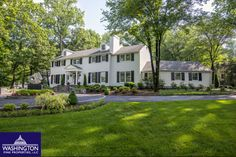 This stunning home at 7219 Arrowood Road in Bethesda, MD sold by the Schuman Team at Washington Fine Properties!