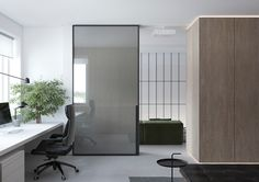 Wonderful Modern Interior Design Home Techniques And Strategies For modern interior design office simple Minimalist Home Interior, Simple Interior, Contemporary Interior, Modern Interior Design, Interior Architecture, Modern Office Design, Guest Bedrooms, Home Office Decor, Apartment Design
