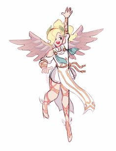 Overwatch Summer Games Winged Victory Mercy