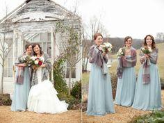 Krista Lee Photography: Meredith + Justin - Mint Spring Farms Winter Wedding / Nashville Wedding Photographer