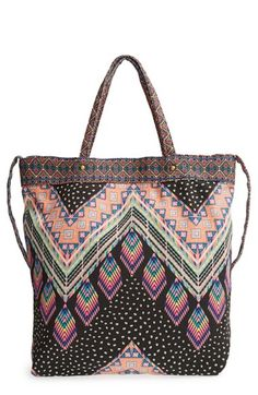 Lulu Woven Tote (Juniors) available at #Nordstrom