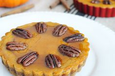 Pumpkin Pecan Tarts with Maple Syrup - Fits into a keto diet!