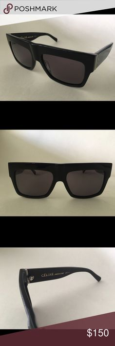 Celine ZZ Top Sunglasses same Kim Kardashian worn New Celine ZZ Top Sunglasses same as Kim Kardashian and Kylie Jenner worn, comes with soft pouch and cloth. Celine Accessories Sunglasses