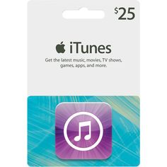 Apple iTunes Gift Card and this would be fantastic! I have lots of songs I want but not the whole cds.