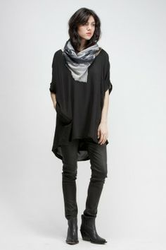 Shaina Mote Lasaine Cowl Back Dress, Humanoid Swipe Stretched Skin Pant, Acne Donna Cowboy Ankle Boot