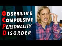 Obsessive Compulsive Personality Disorder Today we talk about OCPD (obsessive compulsive personality disorder): what it is, how we diagnose it, and what our treatment options are. OCPD is when we have a pattern of preoccupation with orderliness, perfectionism, and control. These desires or pattern of behavior will come at the expense of flexibility, openness and efficiency. It usually begins in early adulthood and must be present in a variety of Paranoid Personality Disorder, Avoidant Personality, Narcissistic Personality Disorder, Borderline Personality Disorder, Abnormal Psychology, Health Psychology, Relationship Addiction, Relationship Ocd, Mental Illness Awareness