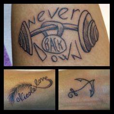 Smalls tattoos...